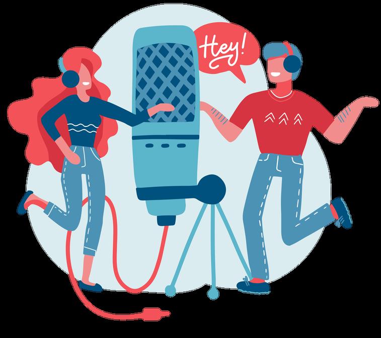 podcast marketing agency